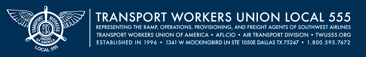 TRANSPORT WORKERS UNION LOCAL 555